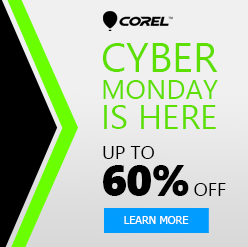 Corel Cyber Monday 2017