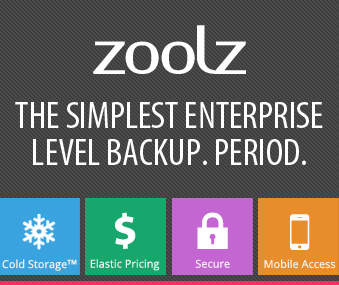 Zoolz Business 10 TB Unlimited