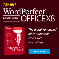 corel wordperfect office x8 professional